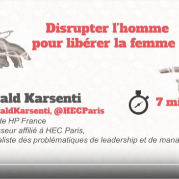 Gerald Karsenti : Intervention lors du forum « changer d'ère »