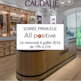 6 juillet 2016 : réseautage et bien-être s'associent avec Caudalie (2è ed.)
