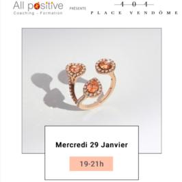 29 janvier : Afterwork 404 Place Vendôme, 2è edition