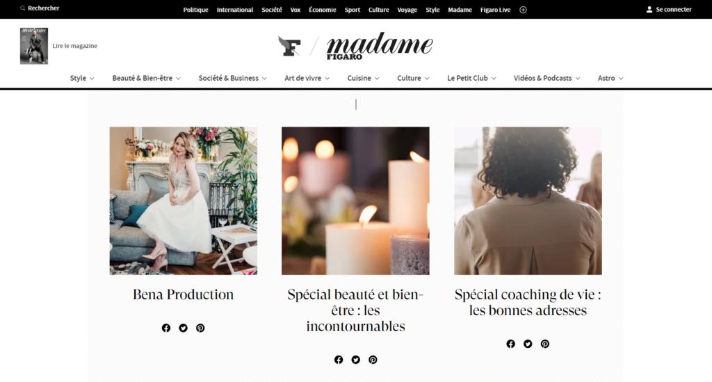 Figaro dossier Homepage
