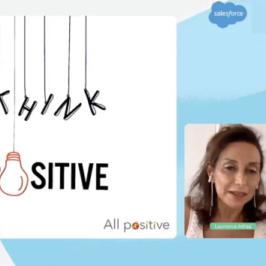 Conférence en visio pour le Women's Network de Salesforce