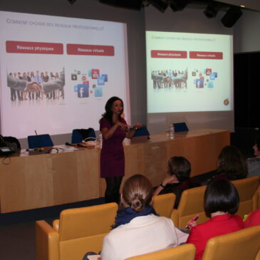 Atelier «Networking it's working» pour le PWN, réseau international féminin
