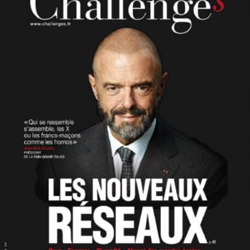 Les réseaux sociaux féminins dans la revue Challenges (Juin 2014)