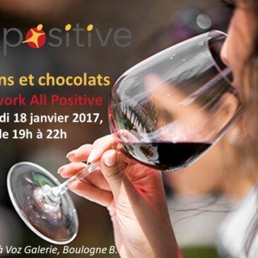 Afterwork «Art, vins et chocolats»