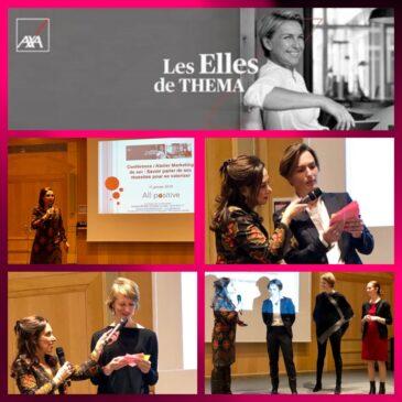 Conférence auprès des femmes entrepreneuses du secteur de l'assurance