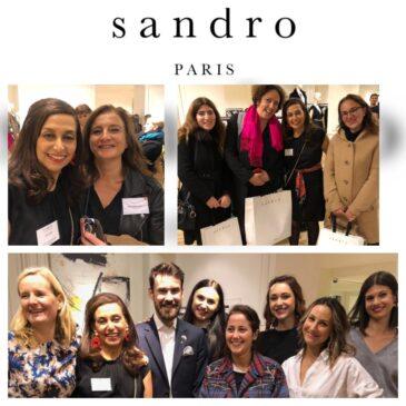 Soirée réseau All Positive : Afterwork «Shopping & networking» chez Sandro