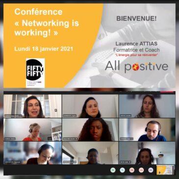 Conférence «Networking» pour le réseau fifty-fifty de TF1